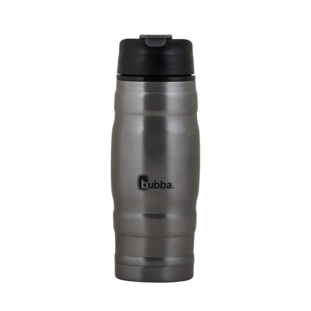 Bubba 16 oz. (473 ml) Dual Wall Vacuum Insulated Stainless Steel Hero Bottle in Gunmetal Gray