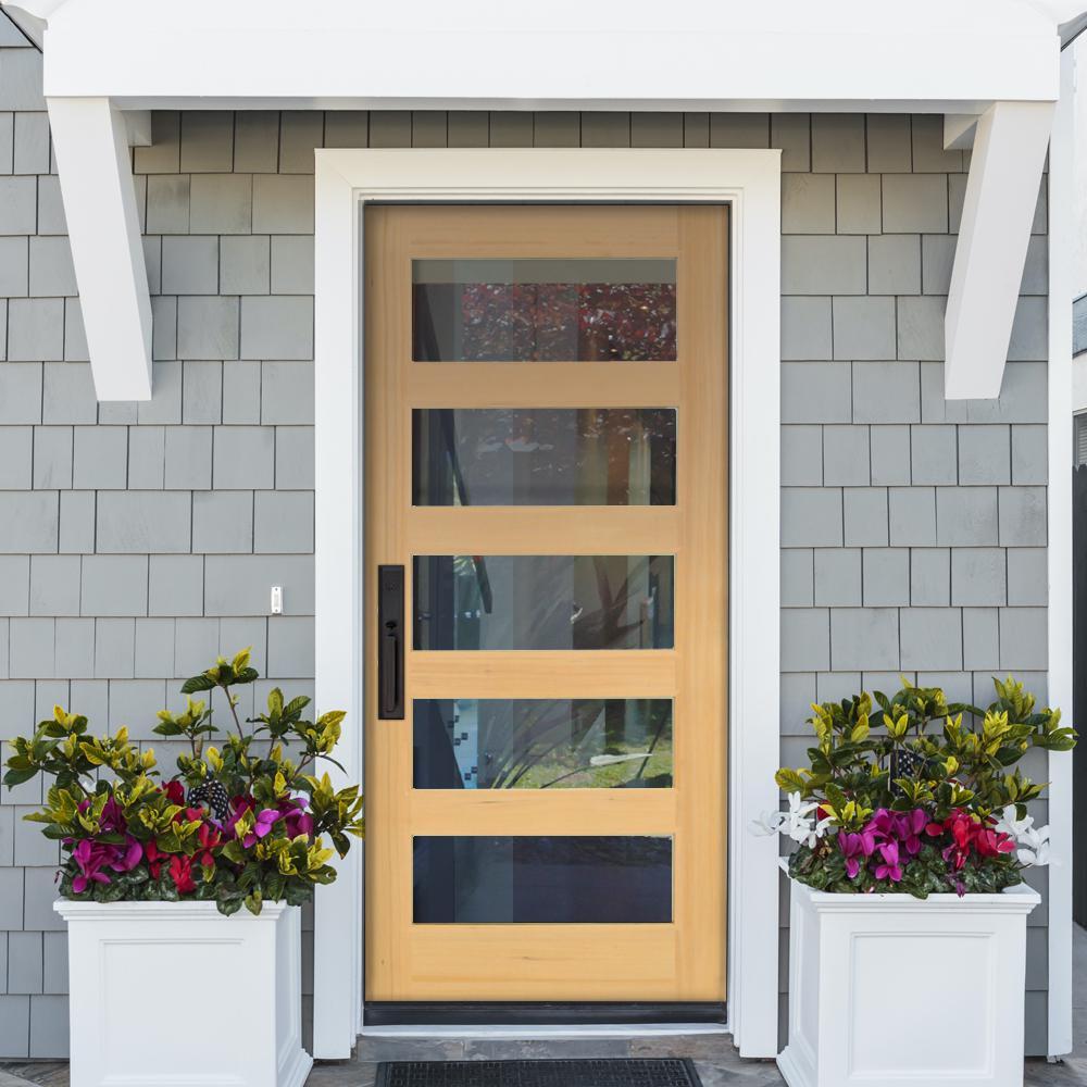 Krosswood Modern Hemlock Wood Door Collection