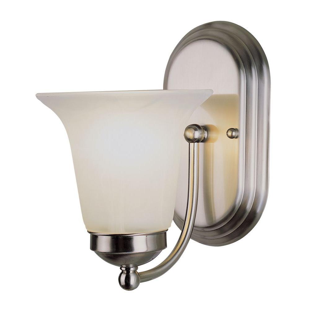 Bel Air Lighting 1-Light Brushed Nickel Sconce