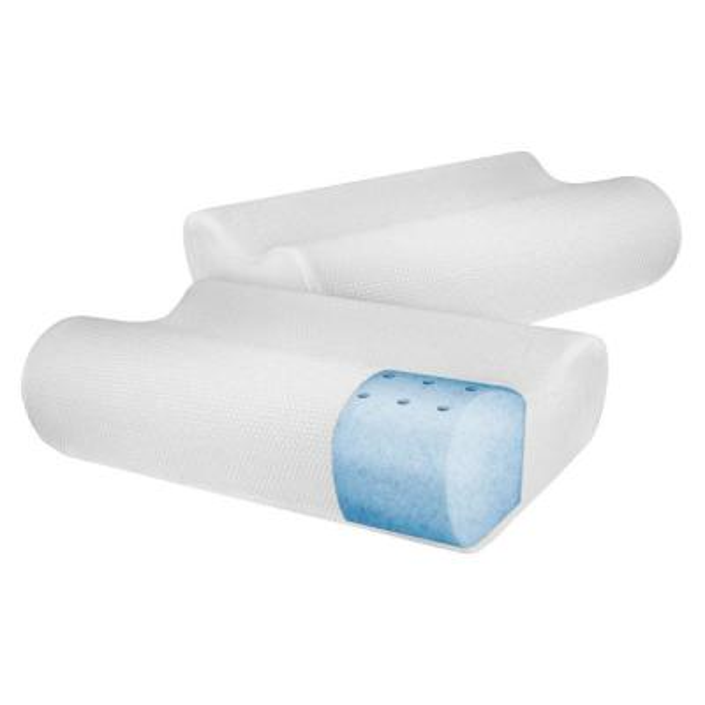 Classic Contour Memory Foam Standard Bed Pillows (2-Pack)