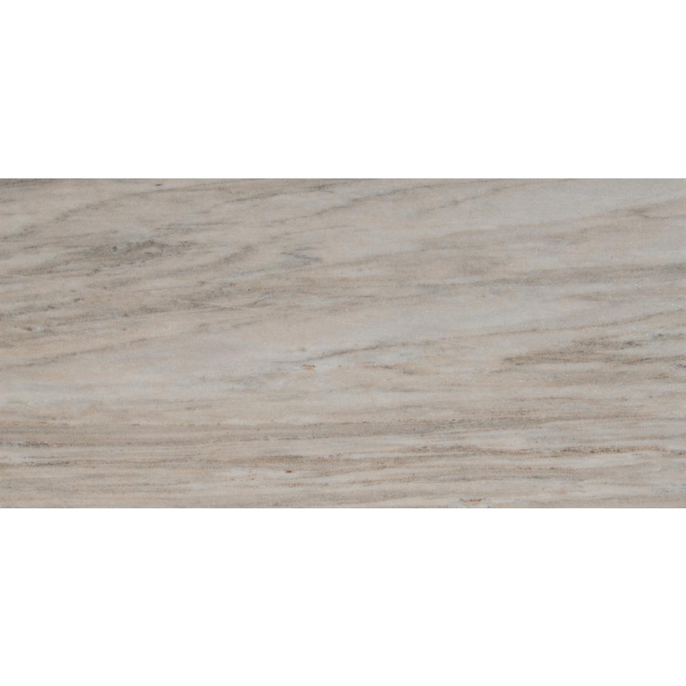 MSI Palisandro 12 in. x 24 in. Polished Marble Floor and Wall Tile (10 sq. ft. / case)