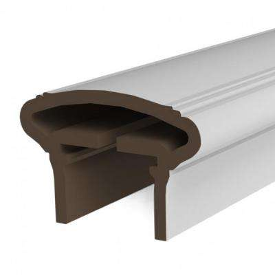 White Resalite Composite 96 in. Transform Top Rail Presence