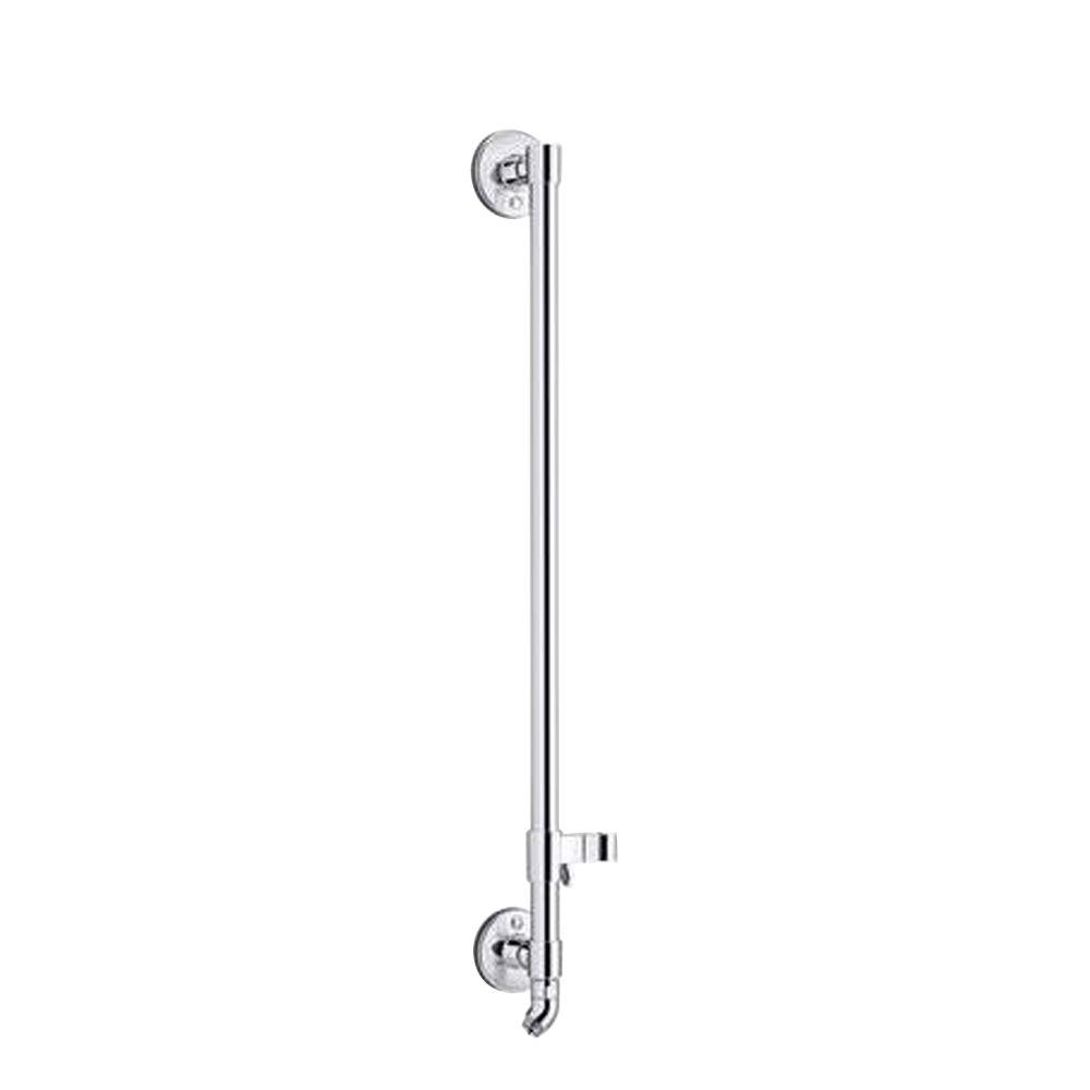 HydoRail-H 27 in. Bath/Shower Column in Polished Chrome