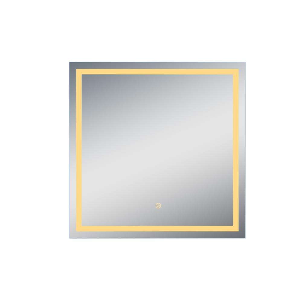 Dreamwerks 36 in. x 36 in. LED Mirror