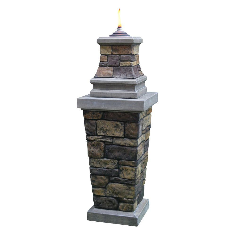 Citronella Pillar Torch