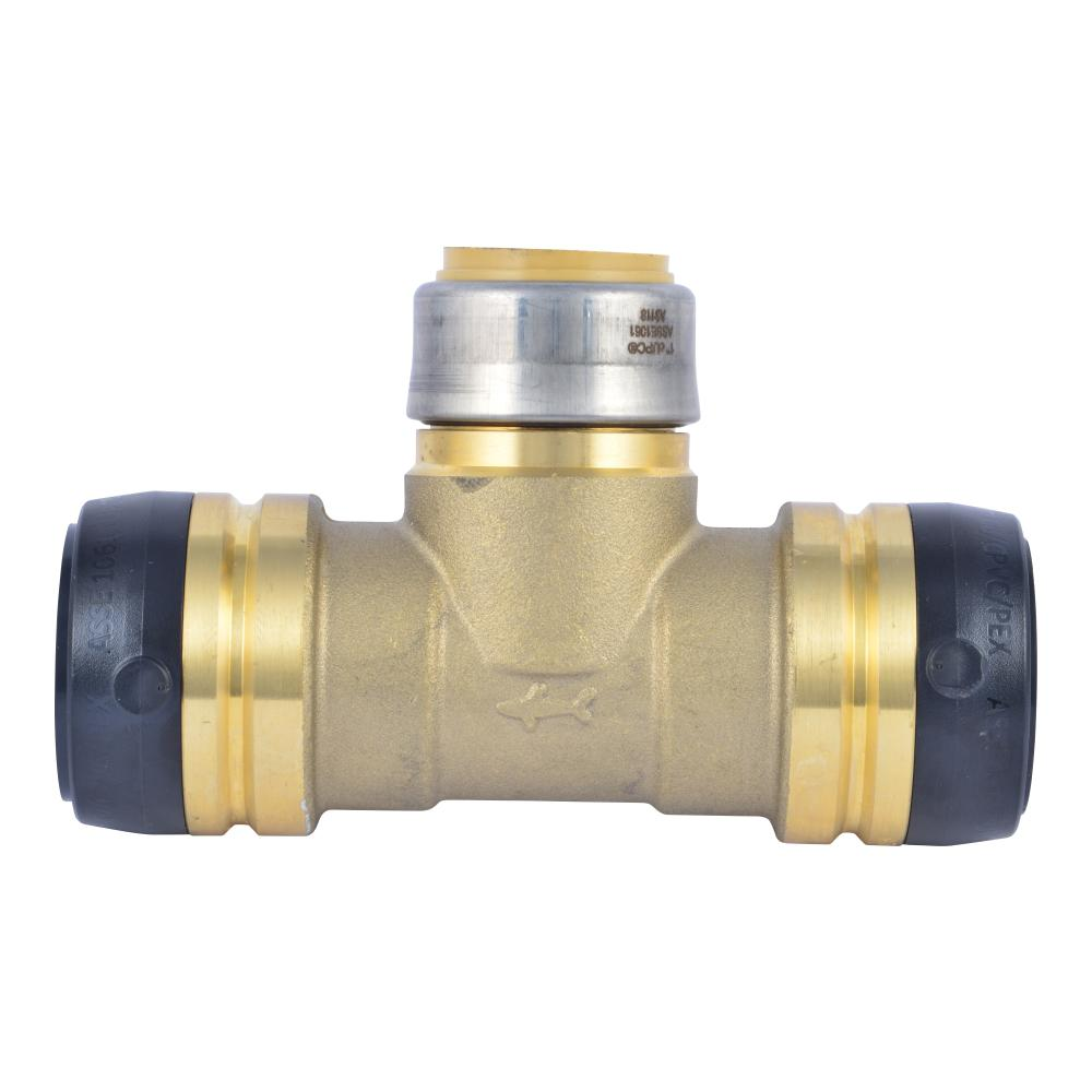 """8 3//4/"""" SharkBite Style Push to Connect LEAD FREE BRASS TEES Plumbing Fitting"""