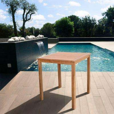 Eden Teak Patio Bar Table