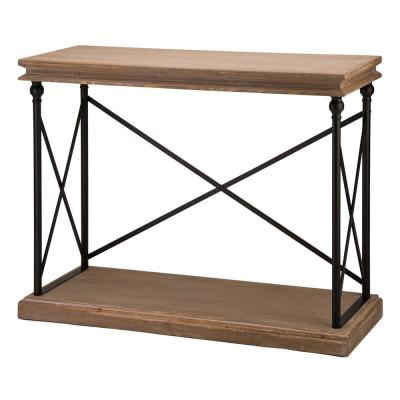 42.10 in. L French Vintage Antiqued Console Table