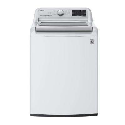 5.5 cu. ft. High-Efficiency White Top Load Washing Machine with TurboWash 3D