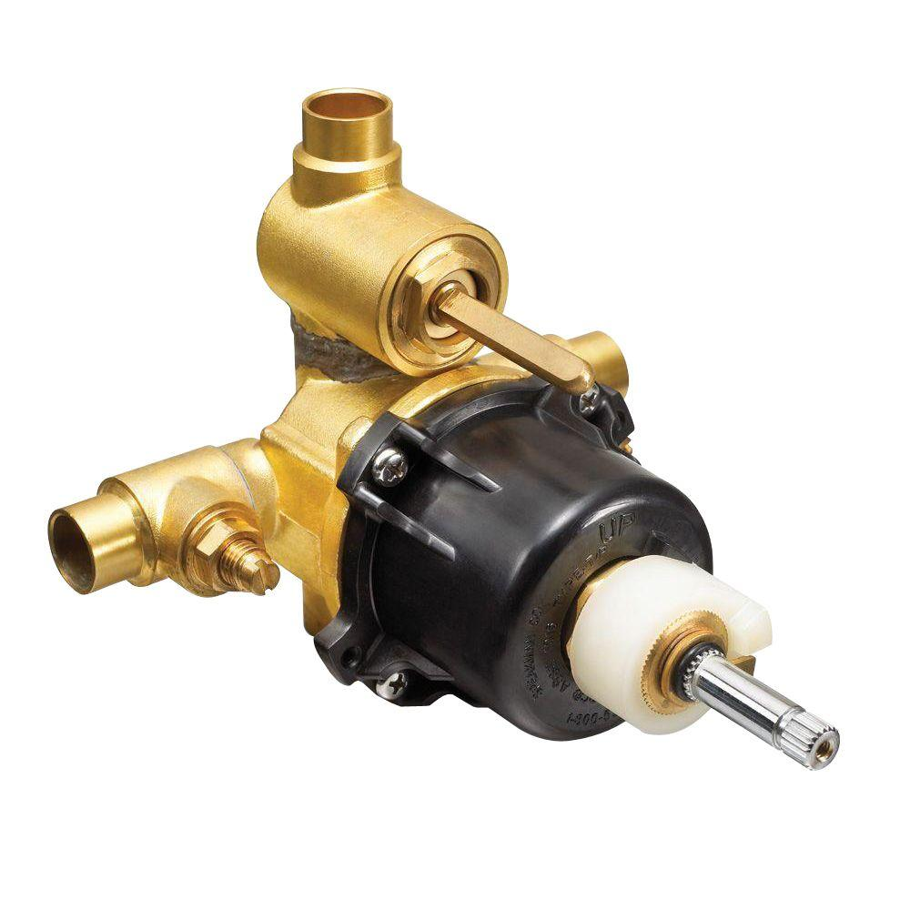 Speakman 1/2 in. x 1/2 in. Brass Sweat Thermostatic Pressure ...