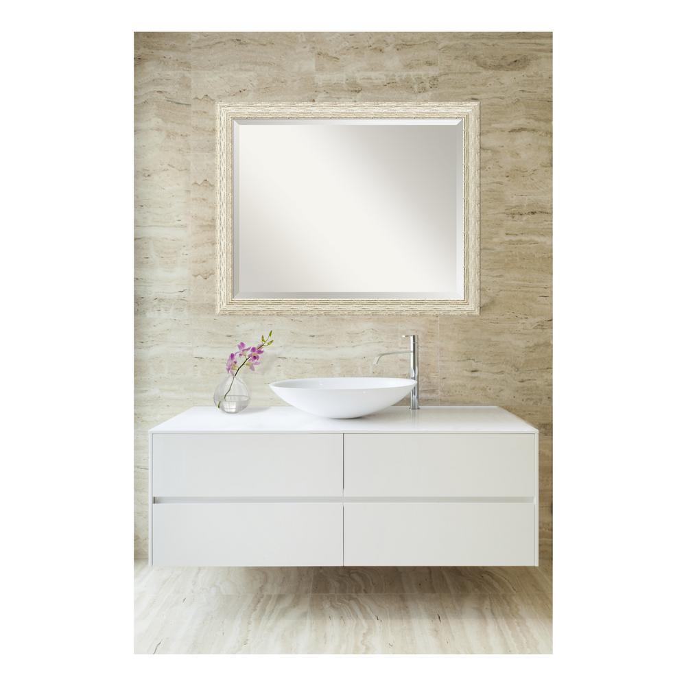 Cape Cod Whitewash Wood 32 In W X 26 H Single Distressed Bathroom