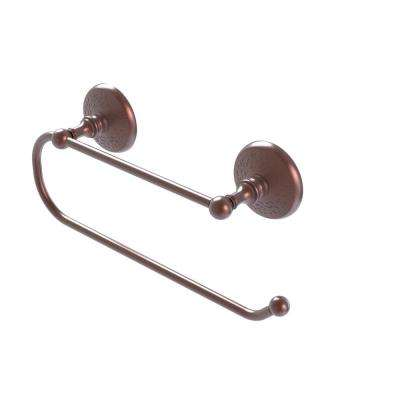 Prestige Monte Carlo Wall Mounted Double Post Toilet Paper Holder in Antique Copper