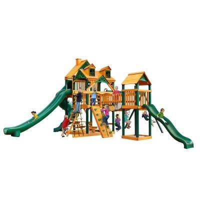 Malibu Treasure Trove II with Timber Shield Cedar Playset