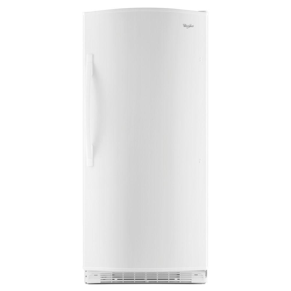 Whirlpool 17.7 cu. ft. Frost Free Upright Freezer in White