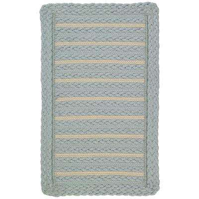 Boathouse Blue 3 ft. x 5 ft. Cross Sewn Area Rug