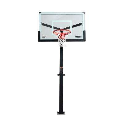Mammoth Bolt Down Basketball Hoop (54 in. Tempered Glass)