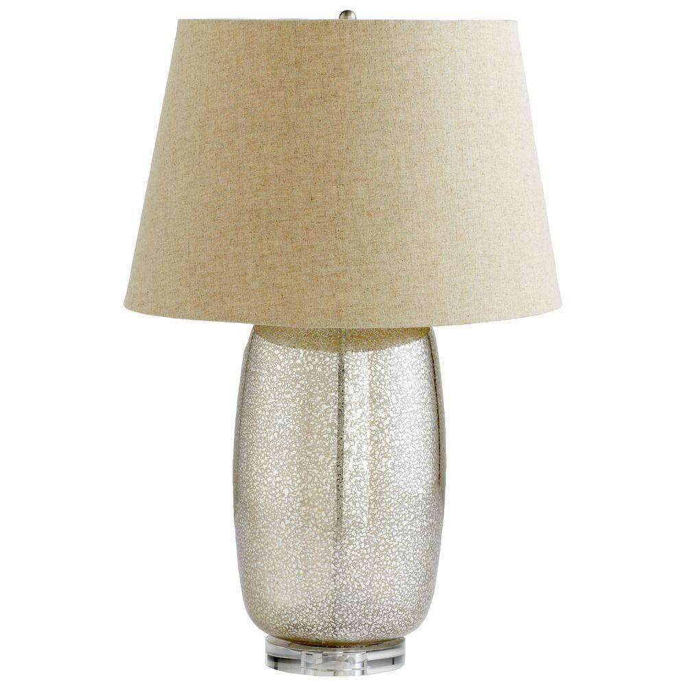 Filament Design Prospect 21 in. Golden Crackle Retro Art Table Lamp