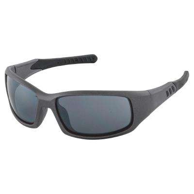 Free Ride Eyewear, Silver Metallic Frame/Gray Flash Mirror Lens