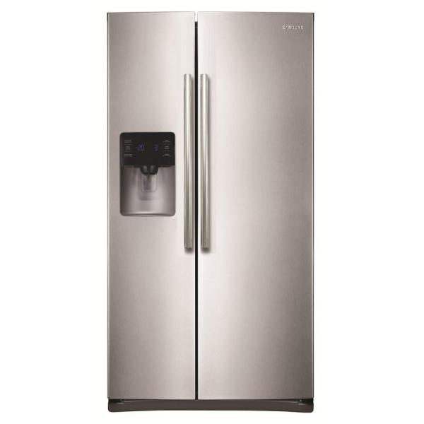 Samsung 24.5 cu. ft. Side by Side Refrigerator in Stainless Steel