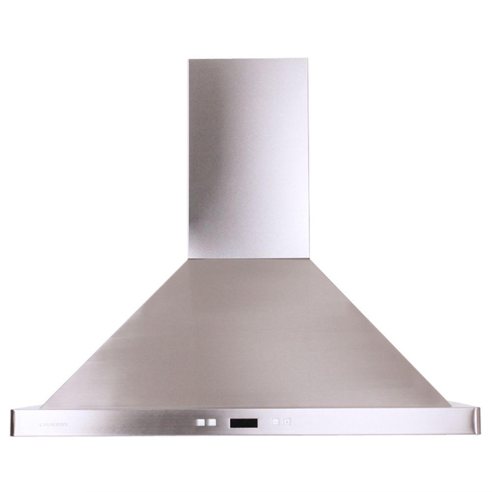 High Quality Cavaliere 30 In. Convertible Range Hood In Stainless Steel