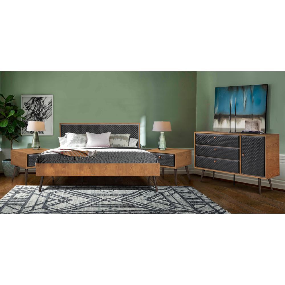 Platform King Bedroom Sets Bedroom Furniture The Home Depot