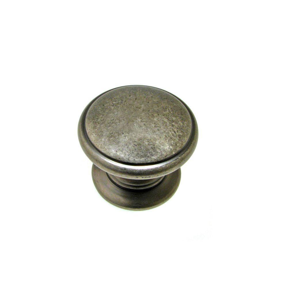 Richelieu Hardware 1-1/4 in. Pewter Cabinet Knob
