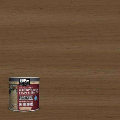 #ST-109 Wrangler Brown Semi-Transparent Weatherproofing Wood Stain