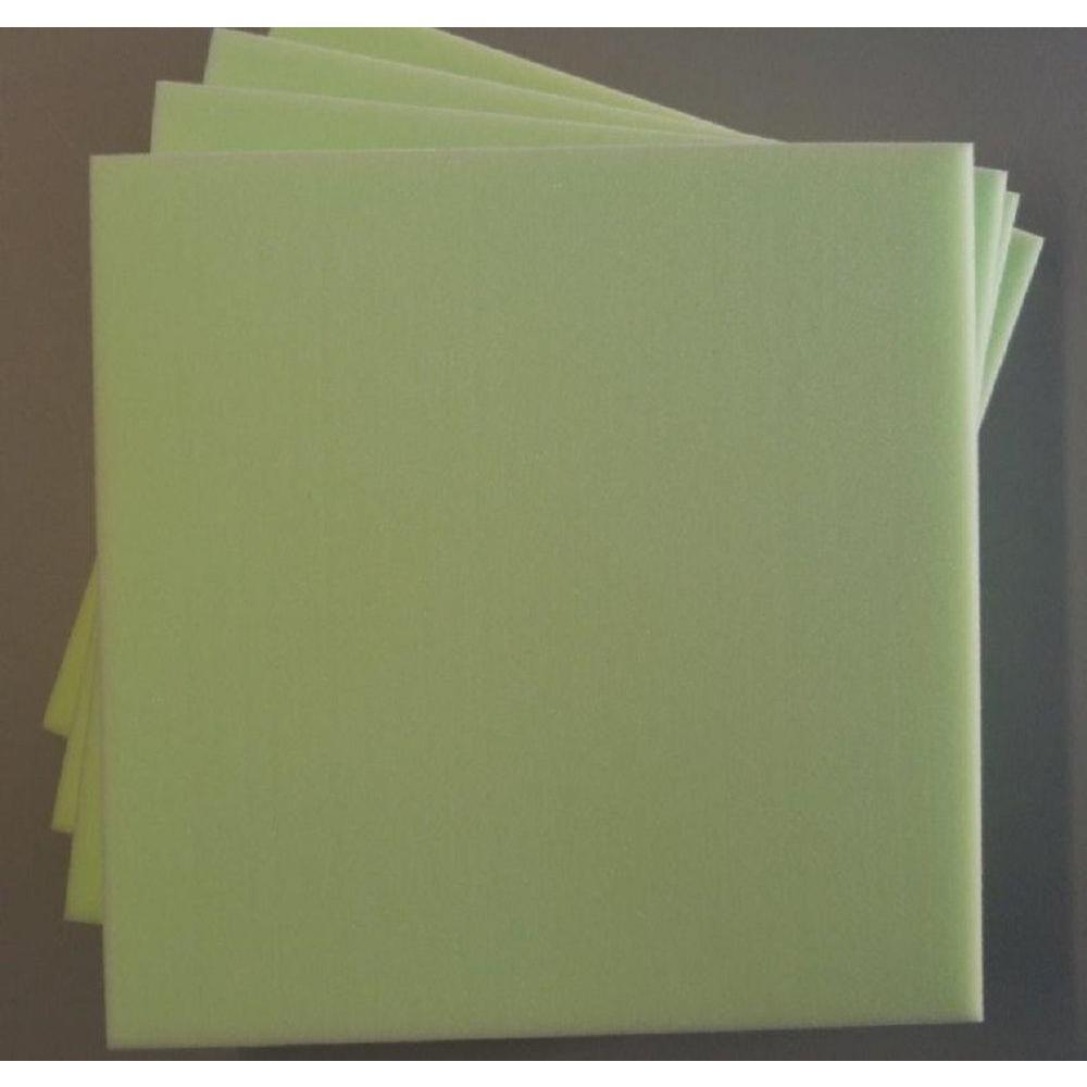 Ashford Textiles High Density Poly Foam 16in. X 16in. X 1in. - (4-Pack)