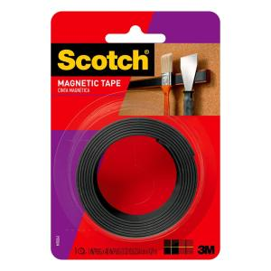 3M Scotch 1 inch x 1.33 yds. Repositionable Magnetic Mounting Tape by 3M