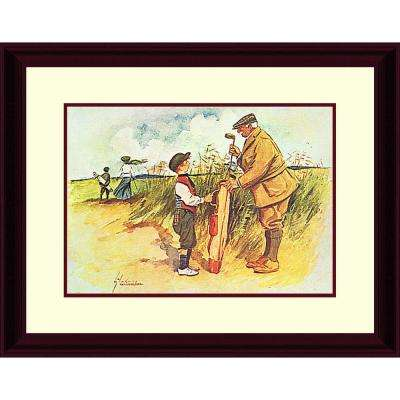 18.in x 15.in''The Colonel'' By PTM Images Framed Printed Wall Art