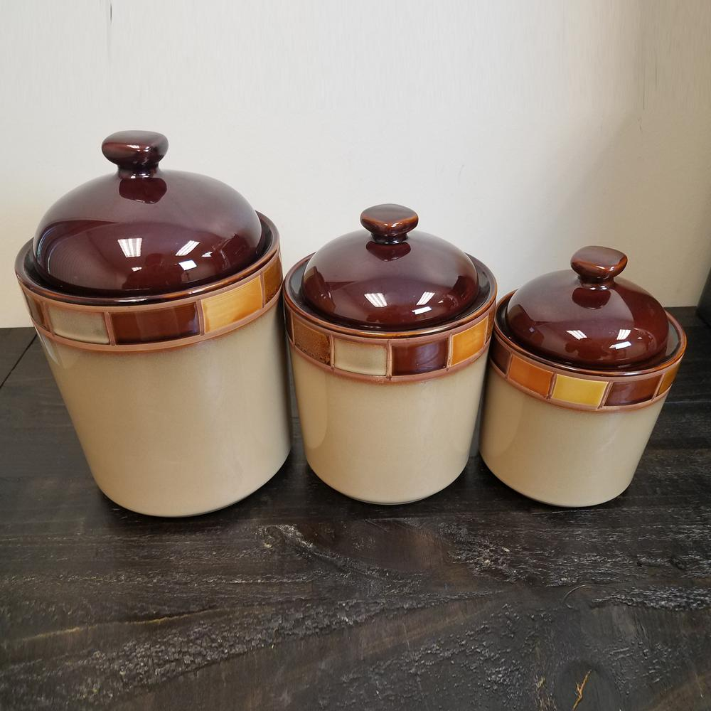 3 Piece Canister Sets