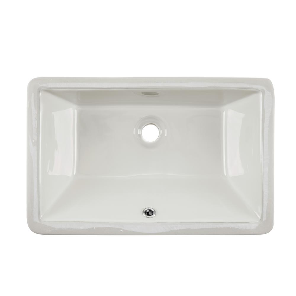 undermount bathroom sink rectangular ipt sink company rectangular glazed ceramic undermount 21129