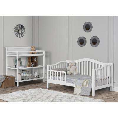 Austin White Toddler Adjustable Day Bed