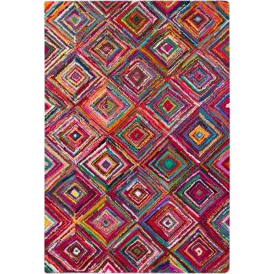 Anapaike Bright Purple 8 ft. x 11 ft. Indoor Area Rug