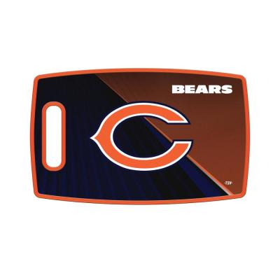 Chicago Bears Large Plastic Cutting Board