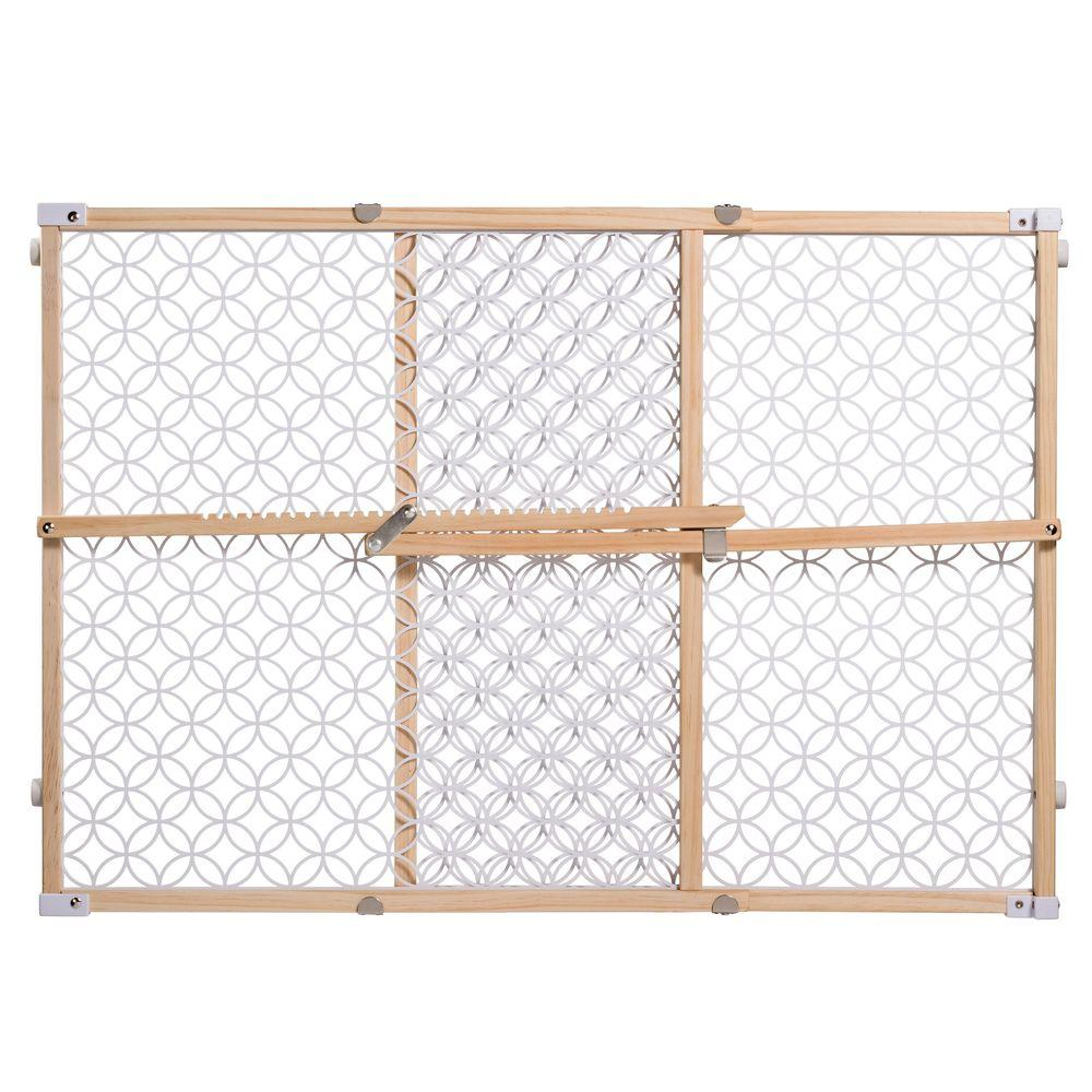 Superieur Secure Pressure Mount Wood/Plastic Mesh Gate