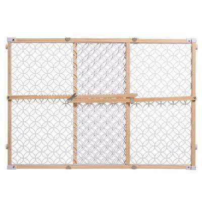 24 in. Secure Pressure Mount Wood/Plastic Mesh Gate