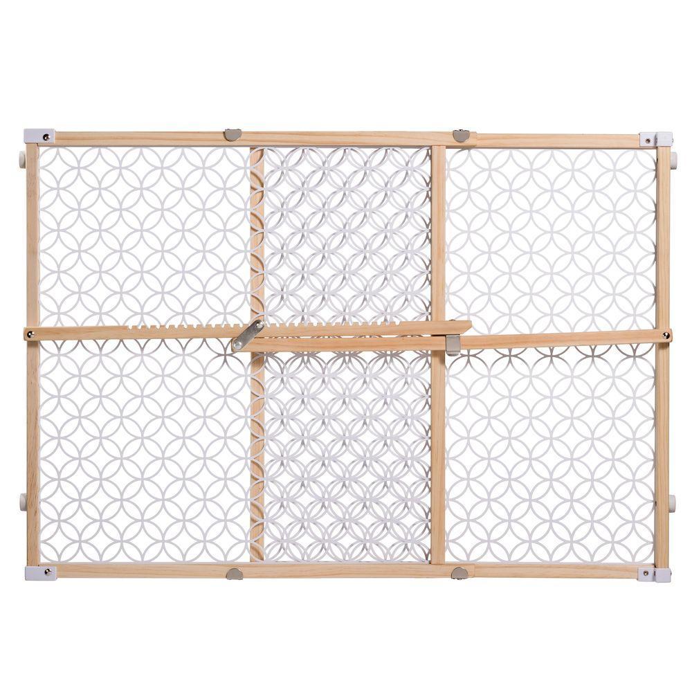 24 in. Secure Pressure Mount Wood/Plastic Mesh Gate