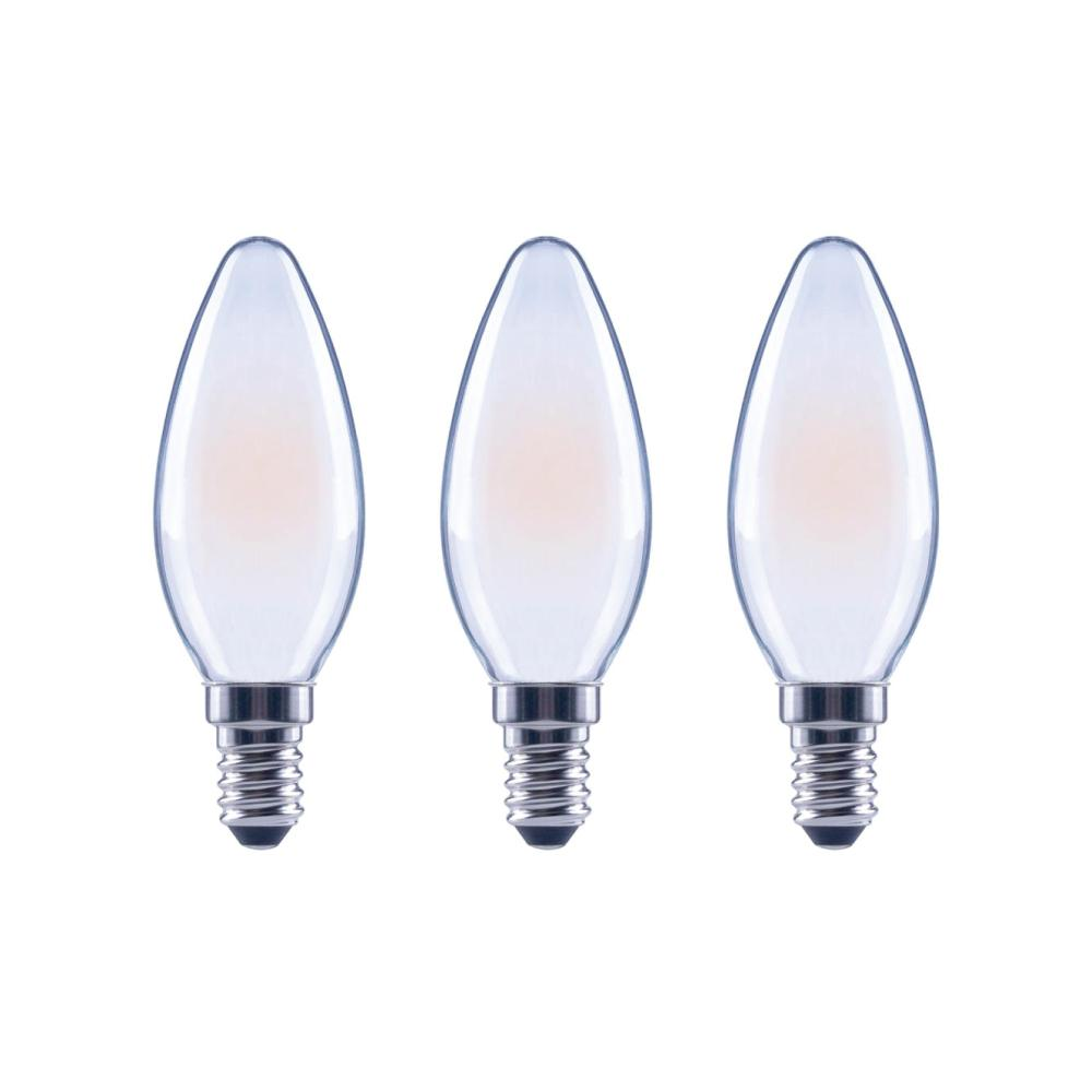 60-Watt Equivalent B11 Dimmable Energy Star Frosted Filament LED Light Bulb