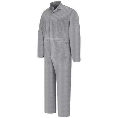 Men's Size 44 (Tall) Fisher Herringbone Button Front Cotton Coverall