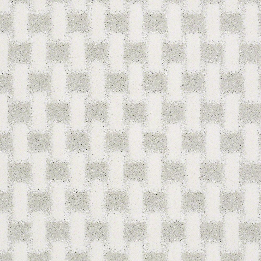 Carpet Sample - King's Cross - In Color Snowflake 8 in. x 8 in.
