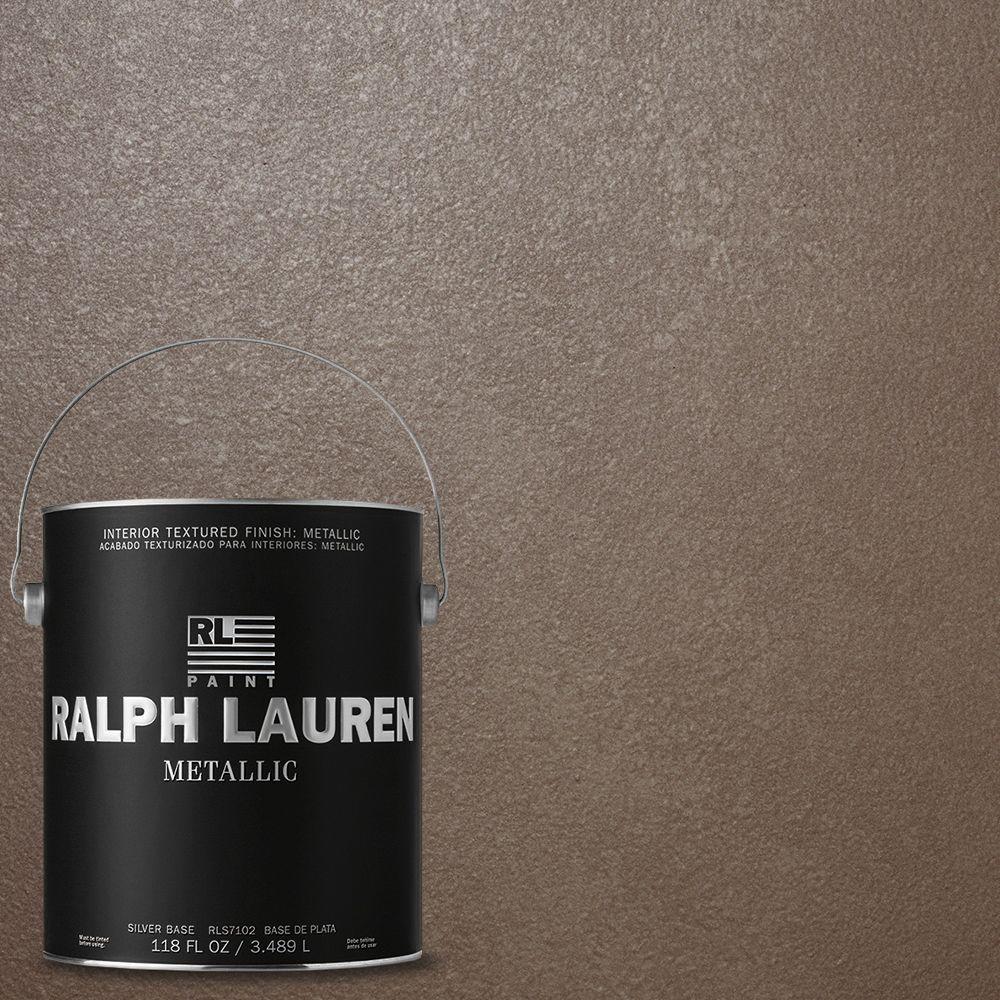 Ralph Lauren 1 gal. Wedding Silver Metallic Specialty Finish Interior Paint