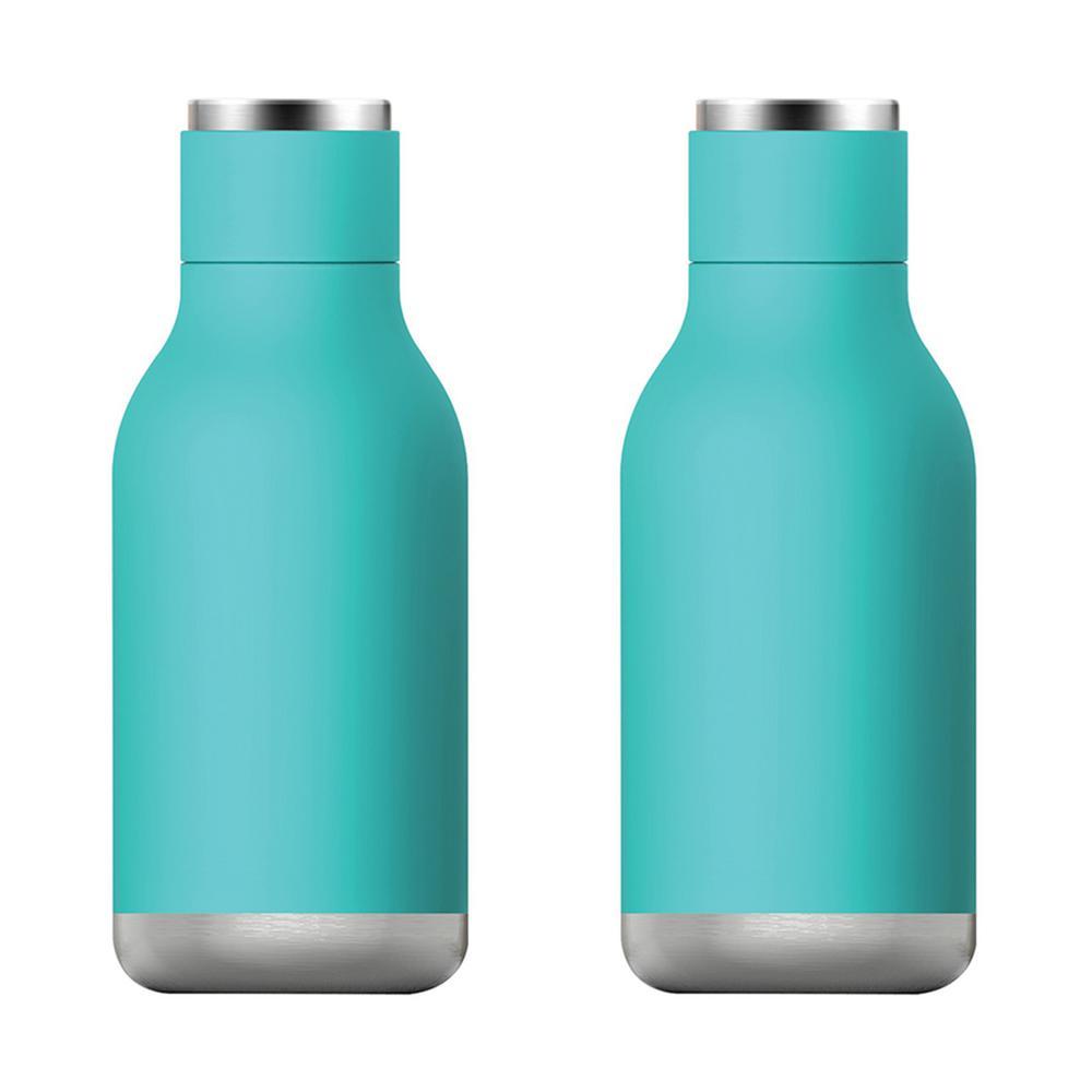 16 oz. Turquoise Urban Bottle (2-Pack)