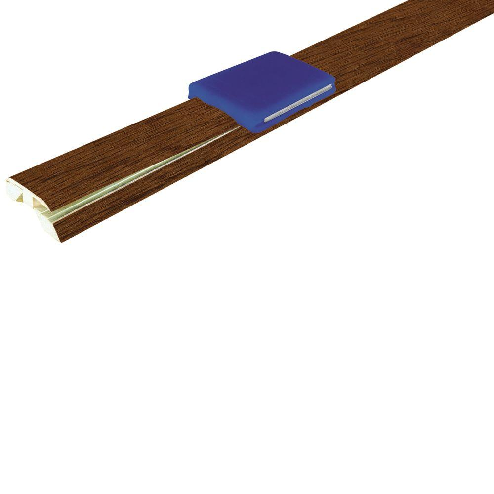 Mohawk Smoked Oak 1-7/8 in. Wide x 83-1/2 in. Length 4-in-1 Laminate Molding-DISCONTINUED
