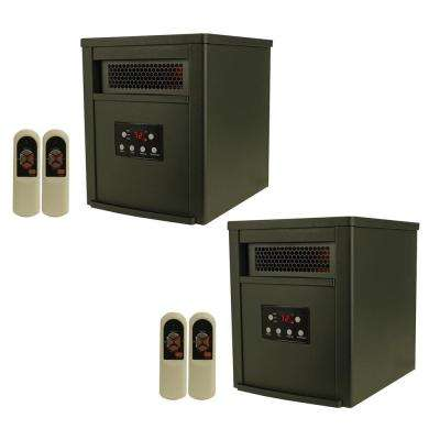 LifePro 6 Element 1500-Watt Portable Infrared Space Heaters (Pair)