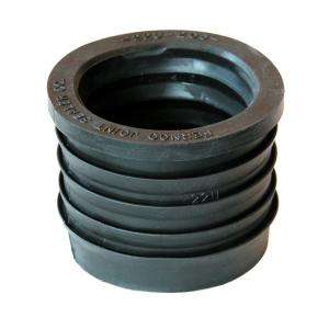 2 inch Service Weight Cast Iron Hub to 2 inch Sch. 40 PVC Compression Donut by