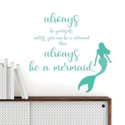 Mermaid Wall Quote