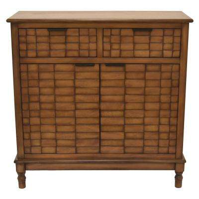 Wood Cabinet in Brown Wood 30in L x 12in W x 30in H