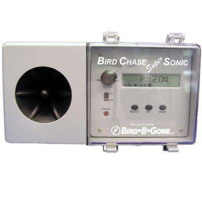 4 In. W x 10.5 In. D x 3.5 in. H Bird Chase Super Sonic