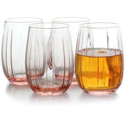 Lotus 12.75 oz Double Old Fashioned Glass (4-Pack)